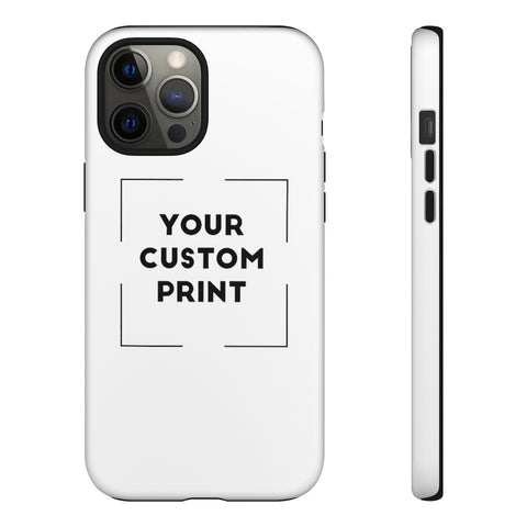 Custom Print | iPhone Cases - White