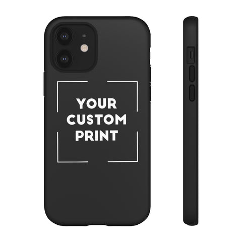 Custom Print | iPhone Cases - Black