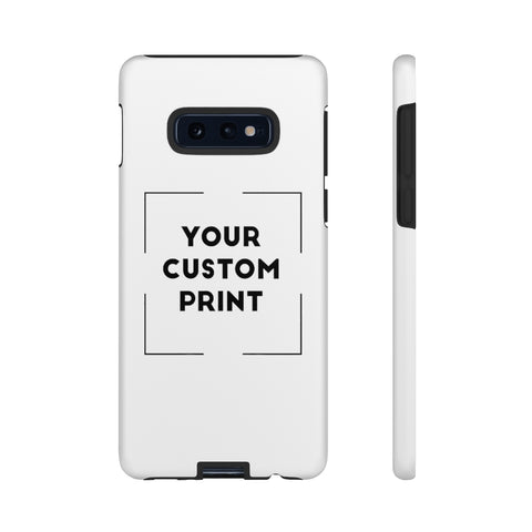 Custom Print | Samsung Cases - White