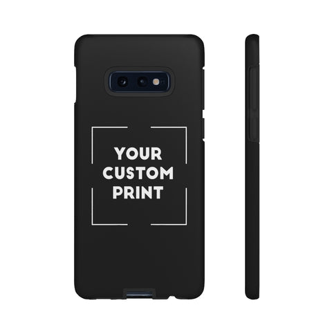Custom Print | Samsung Cases - Black