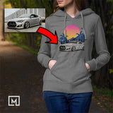 custom-print-unisex-hoodie mockup dark heather