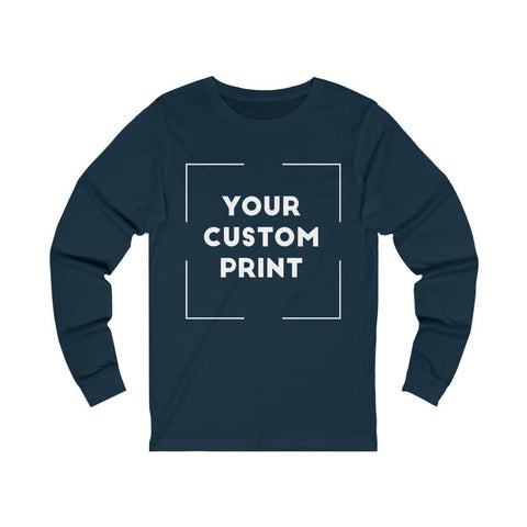 Front Custom Print Unisex | Long Sleeves
