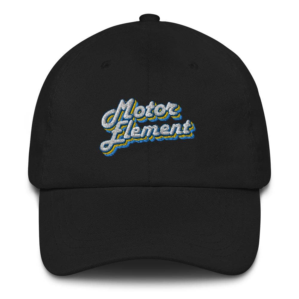 Motor Element Retro Cursive Dad Hat