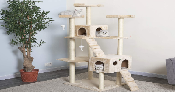 Best Cat Trees For Large Cats Cat Cave Co
