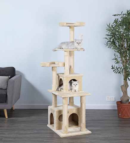 67 inches Multi-Level Cat Tree