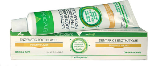 Enzadent Enzymatic Poultry-Flavored Toothpaste for Cats