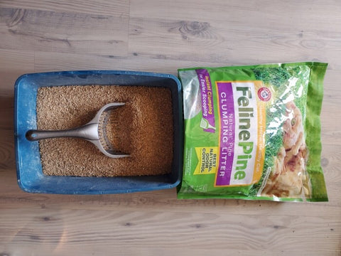 Feline Pine Natural Cat Litter