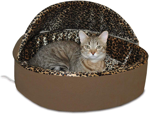 K&H Pet Products Thermo-Kitty Deluxe Heated Cat Bed