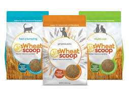 Wheat Scoop Natural Fast-Clumping Wheat Cat Litter