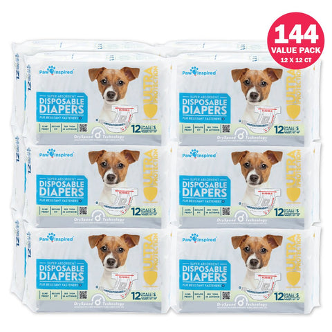 Paw Inspired Diapers For Cats Dogs