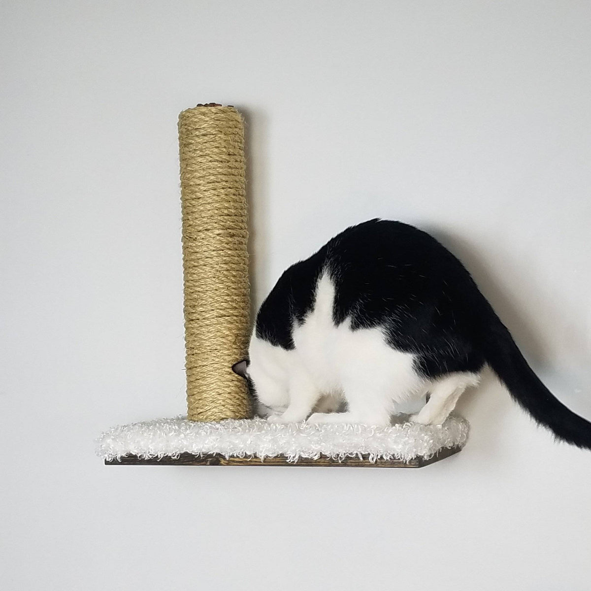 Sisal Pole Shelf | Cat Wall Furniture