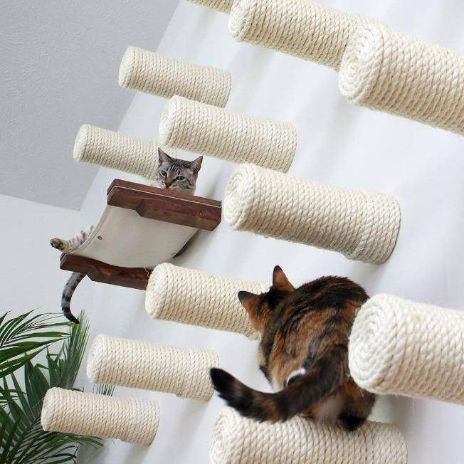 Sisal Floating Posts | Cat Wall Furniture