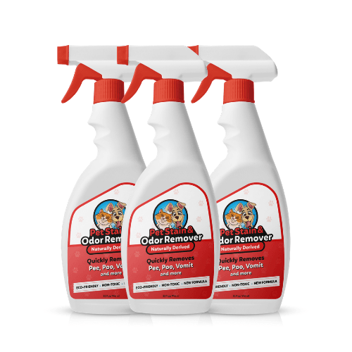 3 x Pet Stain & Odor Remover | Cleaning Products