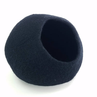 Charcoal Cat Cave | Pet Bed