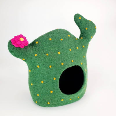 3D Cactus Cat Cave | Pet Bed