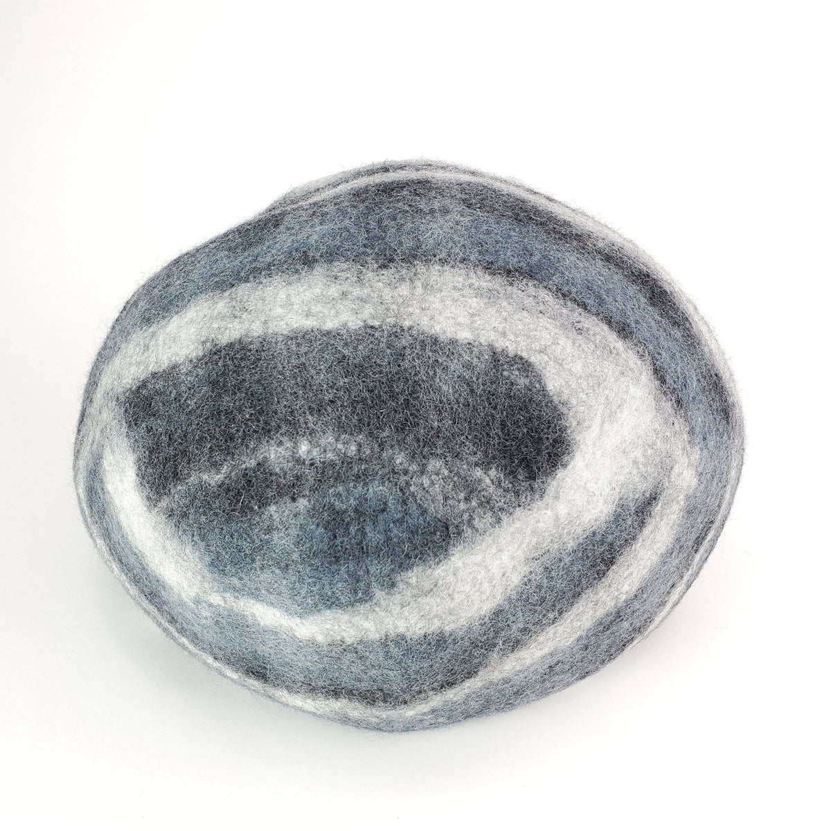 Marbled Grey Cat Cave | Pet Bed