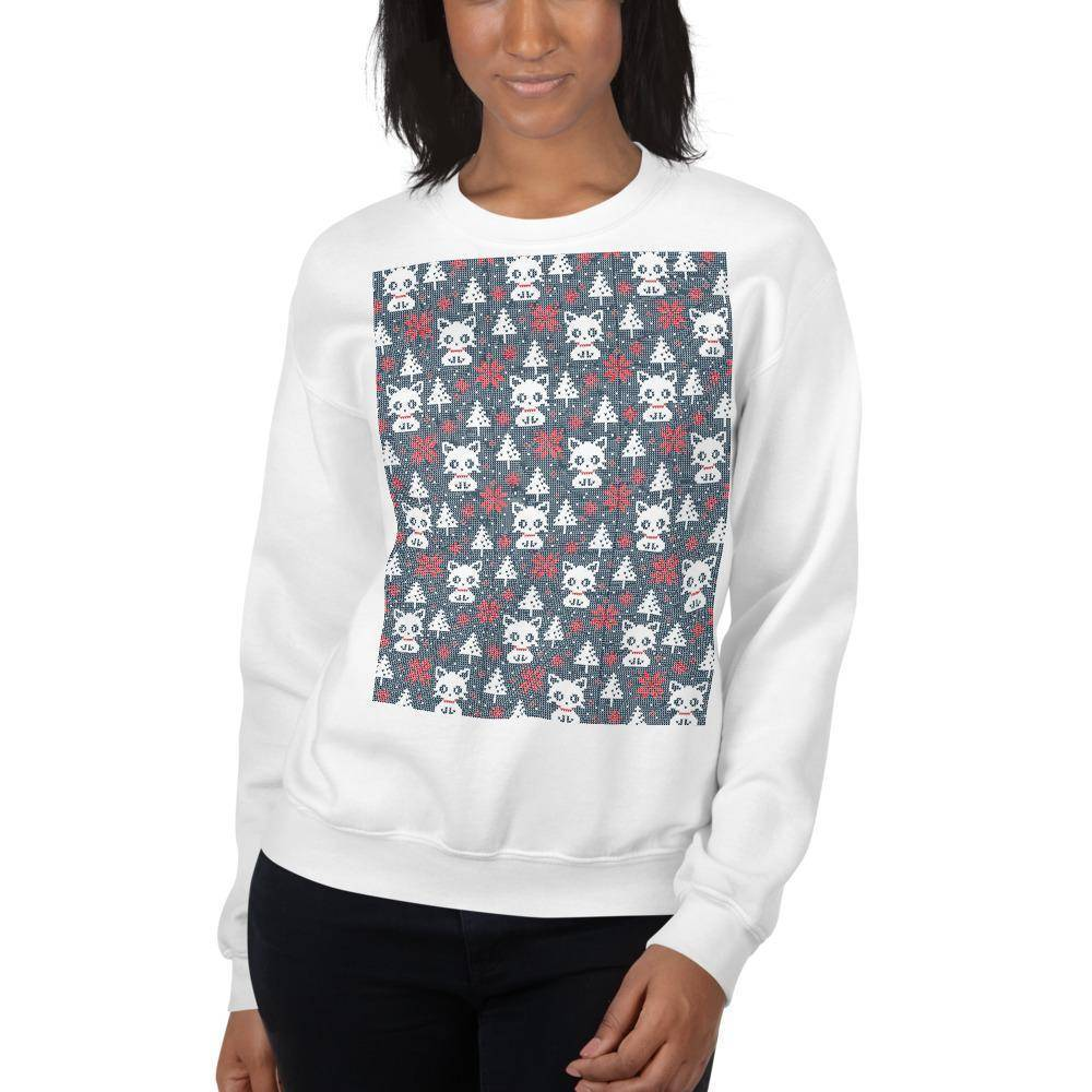 Goggled Eyed Ugly Christmas Sweater © | Unisex Sweatshirt