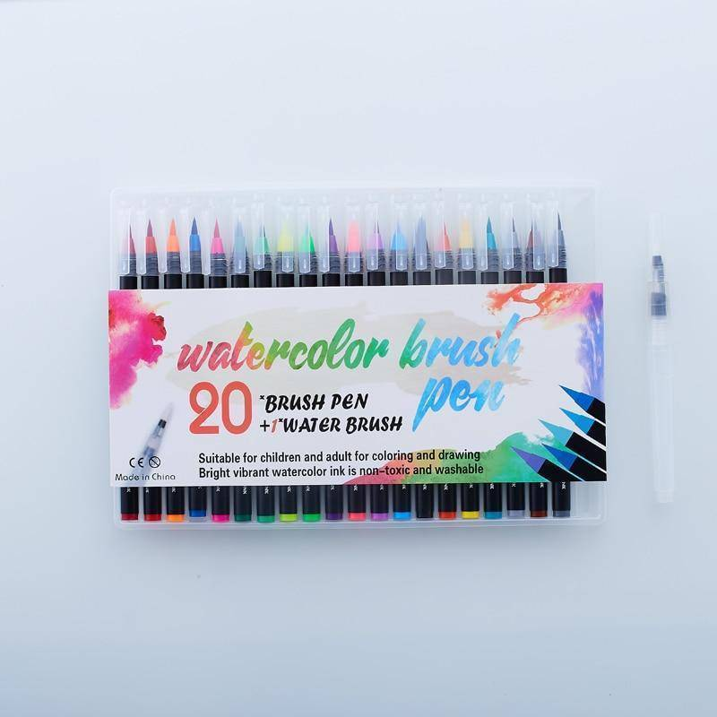 Watercolor Pens | Creativity & Mindfulness