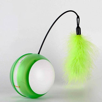 Rotating Electric Feather Ball