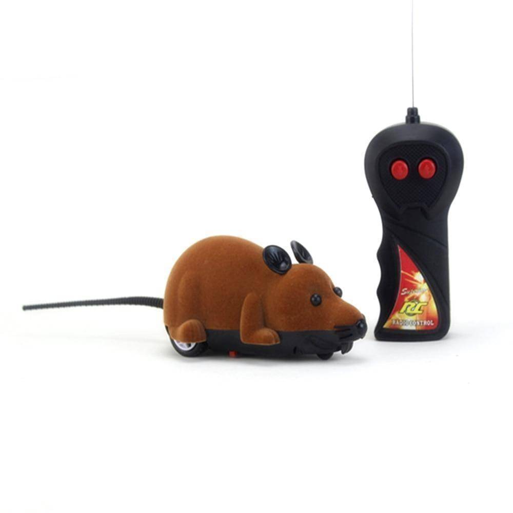 Remote Control Rat Toy | Interactive Cat Toy