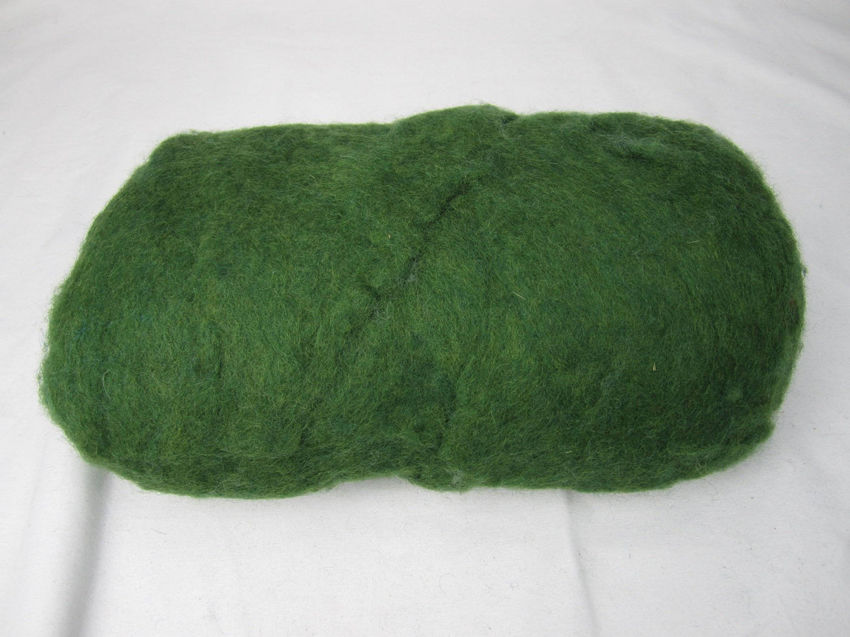Green Core Wool 1lb | Needle Felting – Spinning – Wet Felting – Stuffing