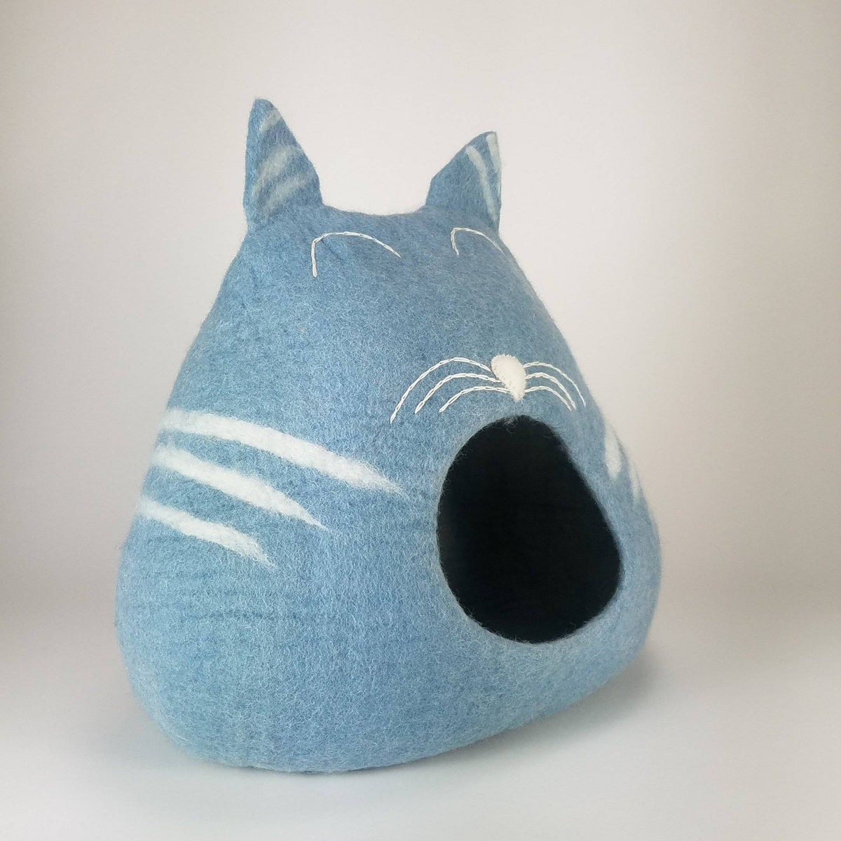 3D Sleepy Kitty Cat Cave | Pet Bed