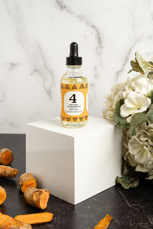 4 Ingredient Face Oil  Turmeric + Geranium