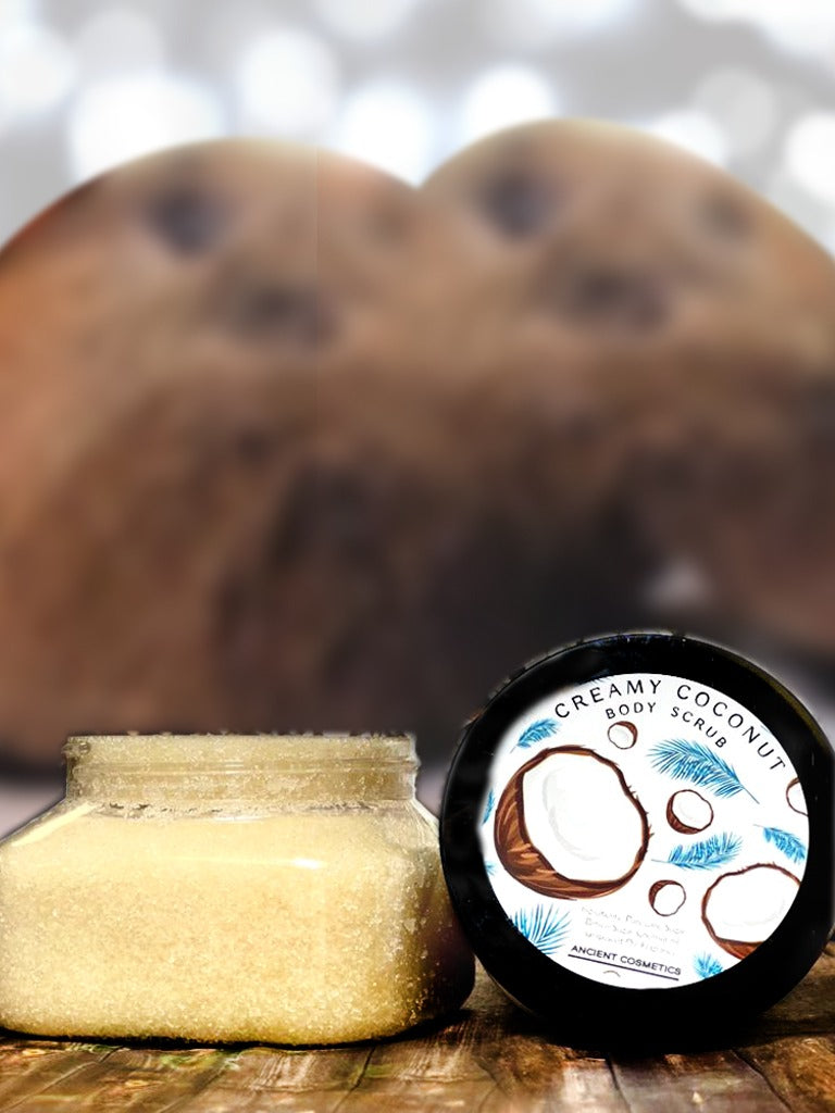Creamy Coconut Body Scrub