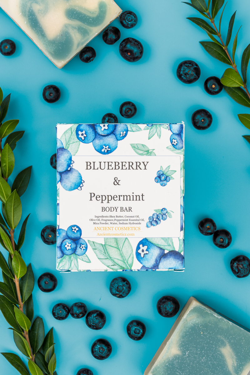 Blueberry + Peppermint - Body Bar
