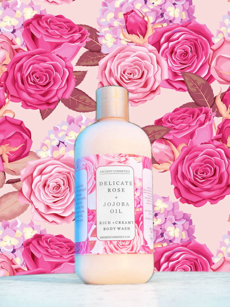 Delicate Rose Body Wash