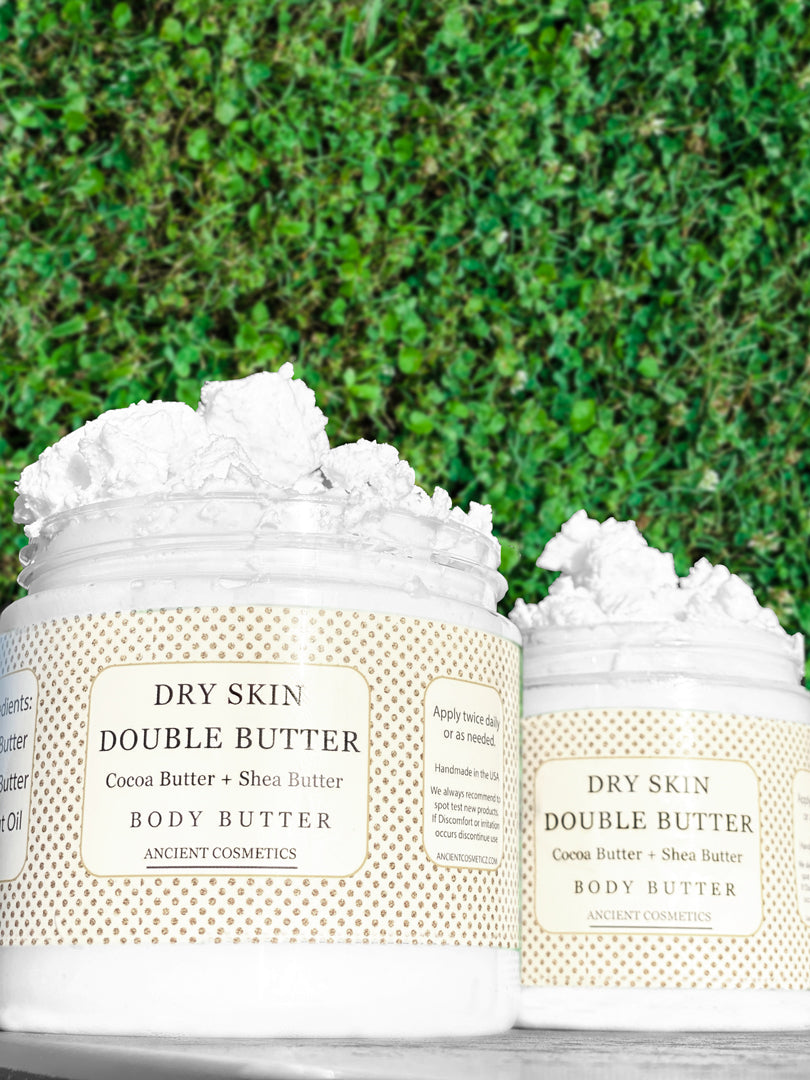 Double Butter Shea Butter + Cocoa Butter Dry Skin