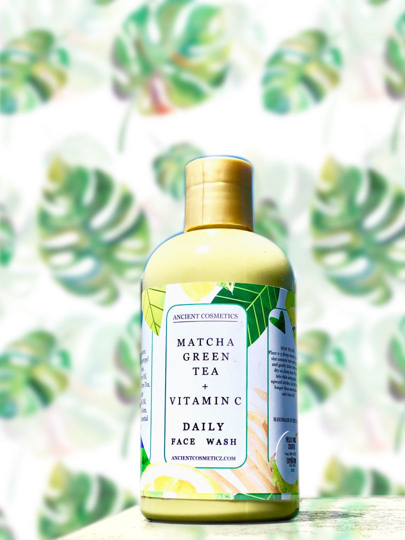 Matcha Green Tea & Vitamin C Daily Face Wash