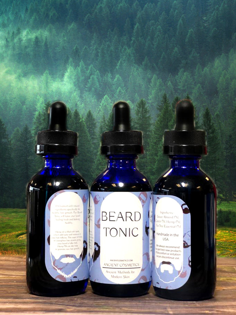 Beard Tonic- Hemp Oil + Tea Tree