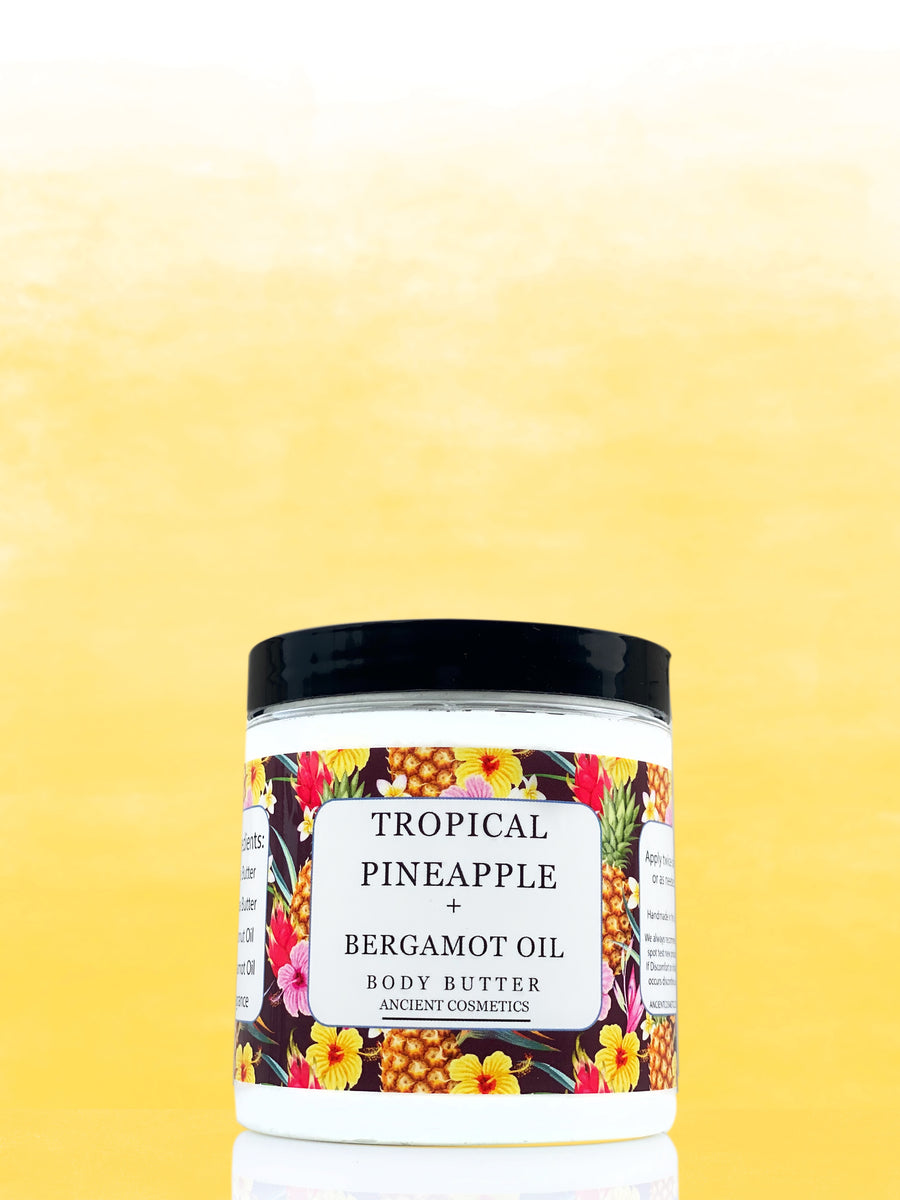 Tropical Pineapple + Bergamot Whipped Body Butter