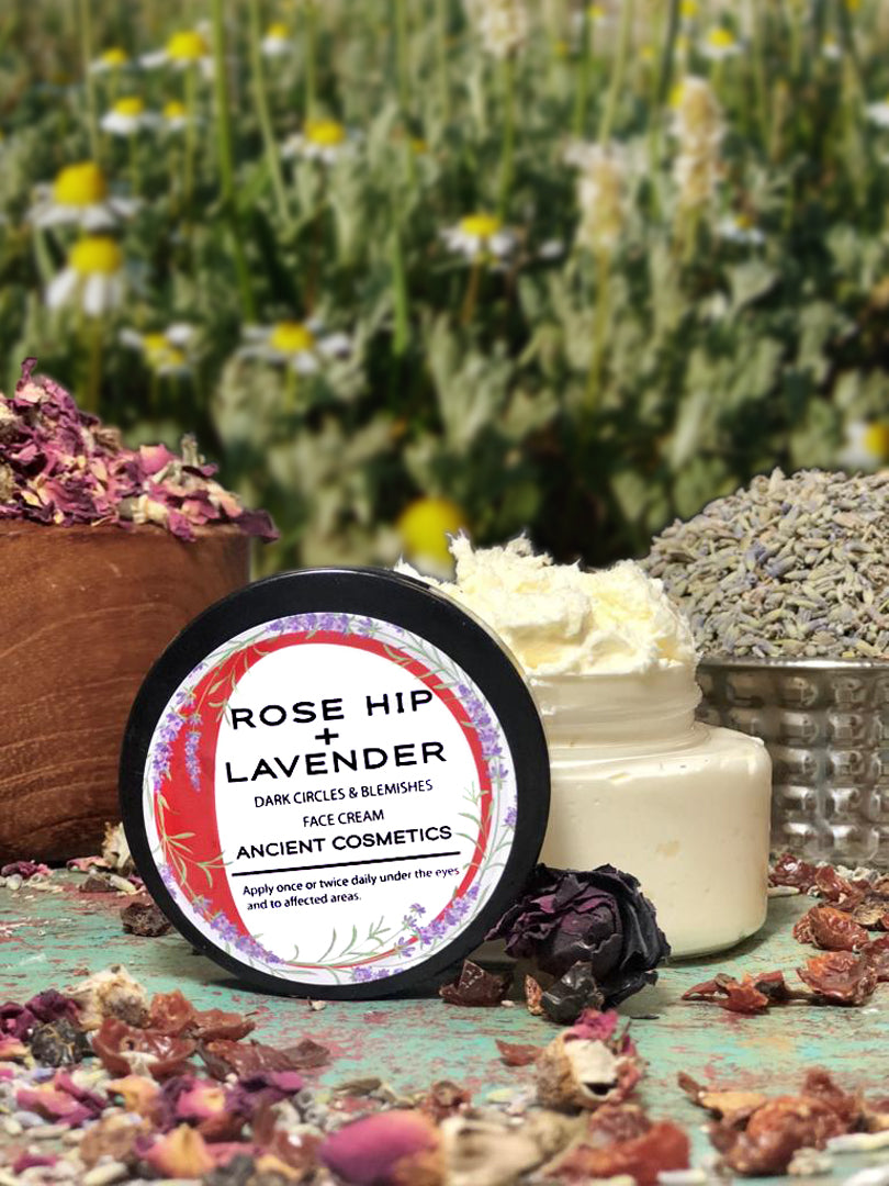 Rose Hip + Lavender Dark Circles & Blemishes Face Cream