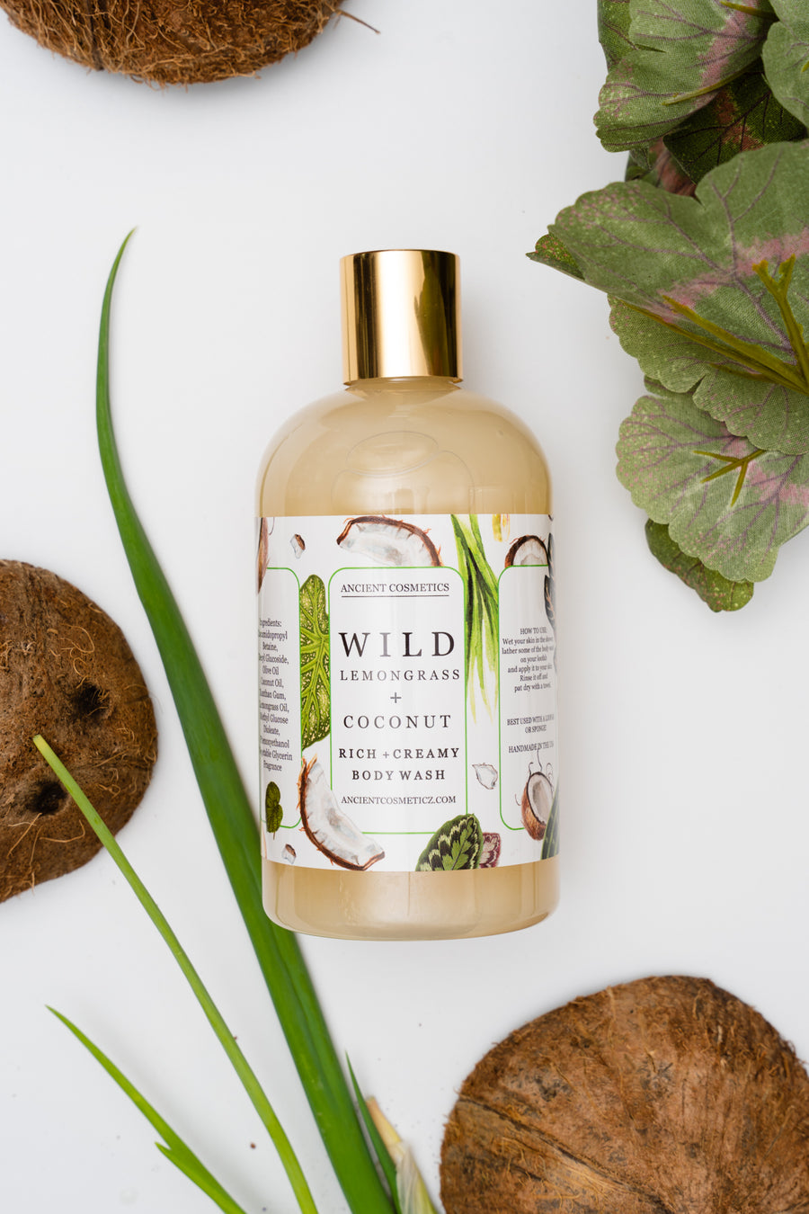 Wild Lemongrass + Coconut Body Wash