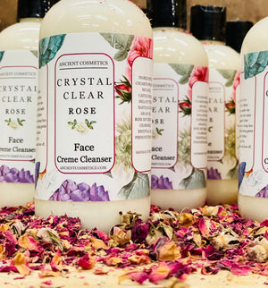 Crystal Clear Rose Creme Cleanser