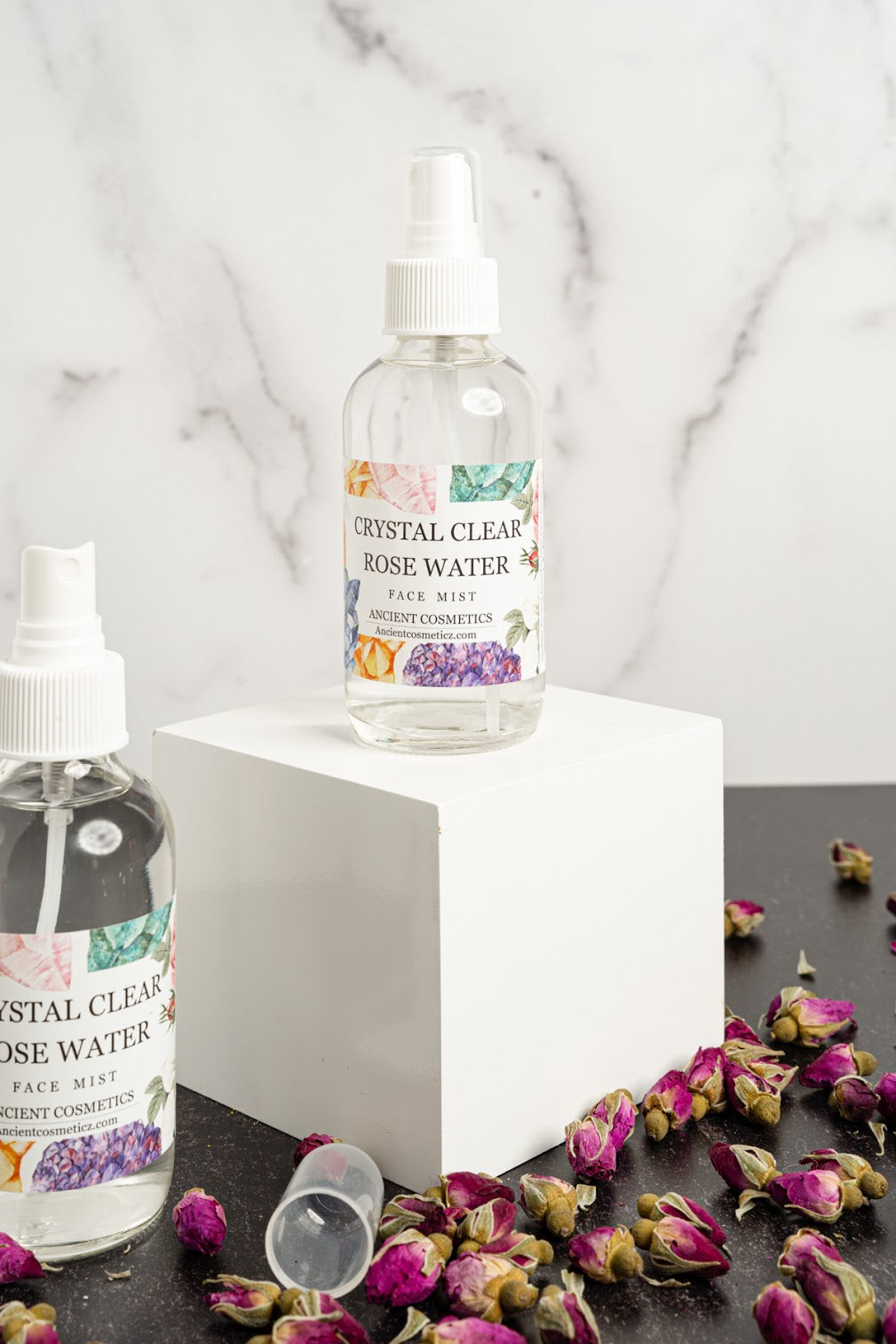 Crystal Clear Rose Water Face Mist