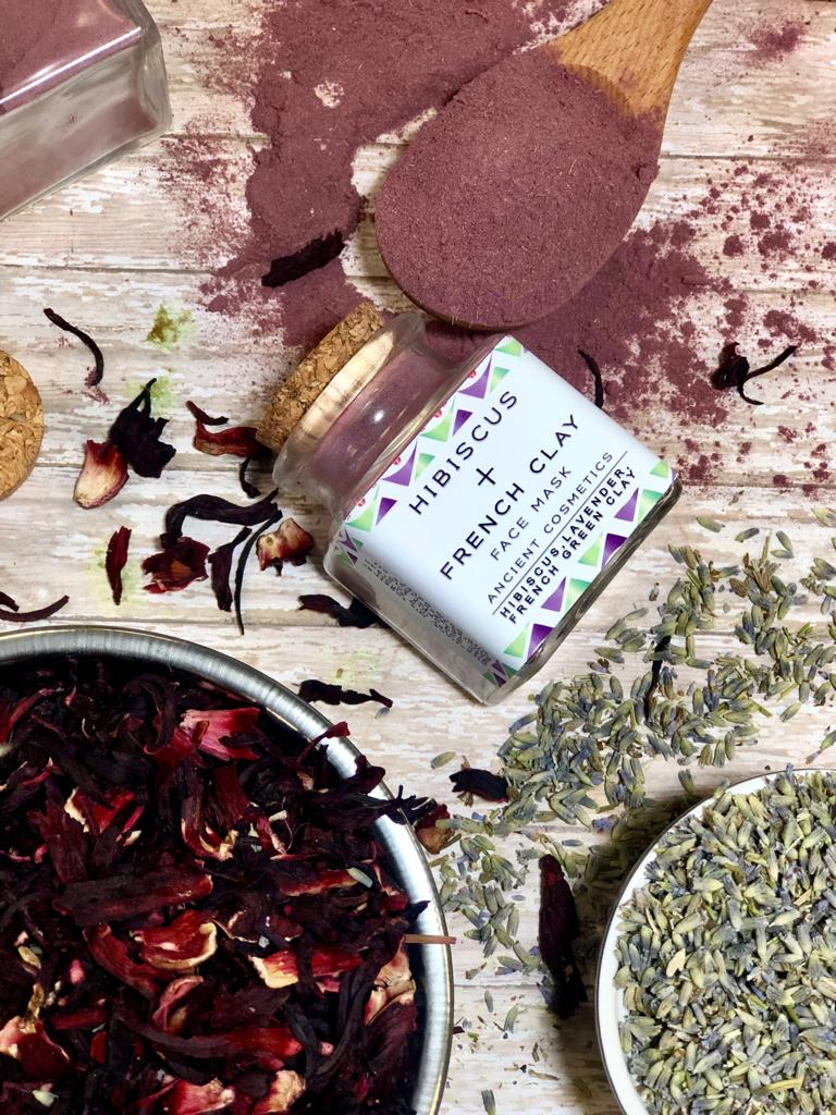 Hibiscus & French Clay Face Mask