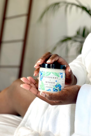 Blueberry + Myrrh Whipped Body Butter