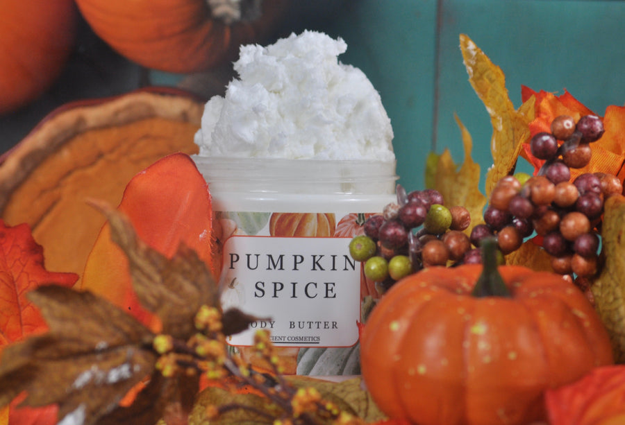 Pumpkin Spice and Cinnamon Body Butter