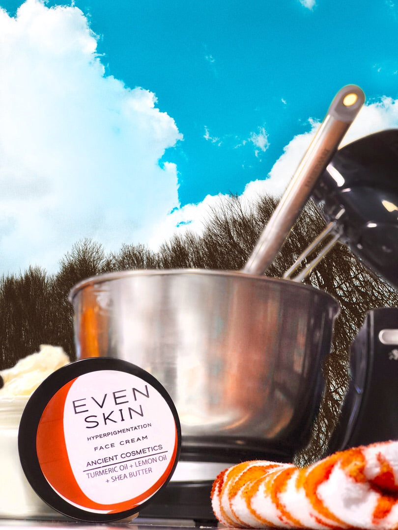 Even Skin- Hyper pigmentation Face Cream Turmeric + Lemon Essential Oils