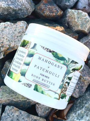 Mahogany and Patchouli Body Butter for Men