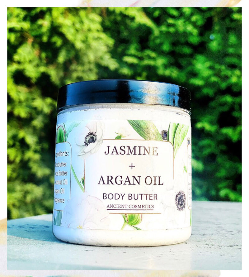 Jasmine and Argan Body Butter