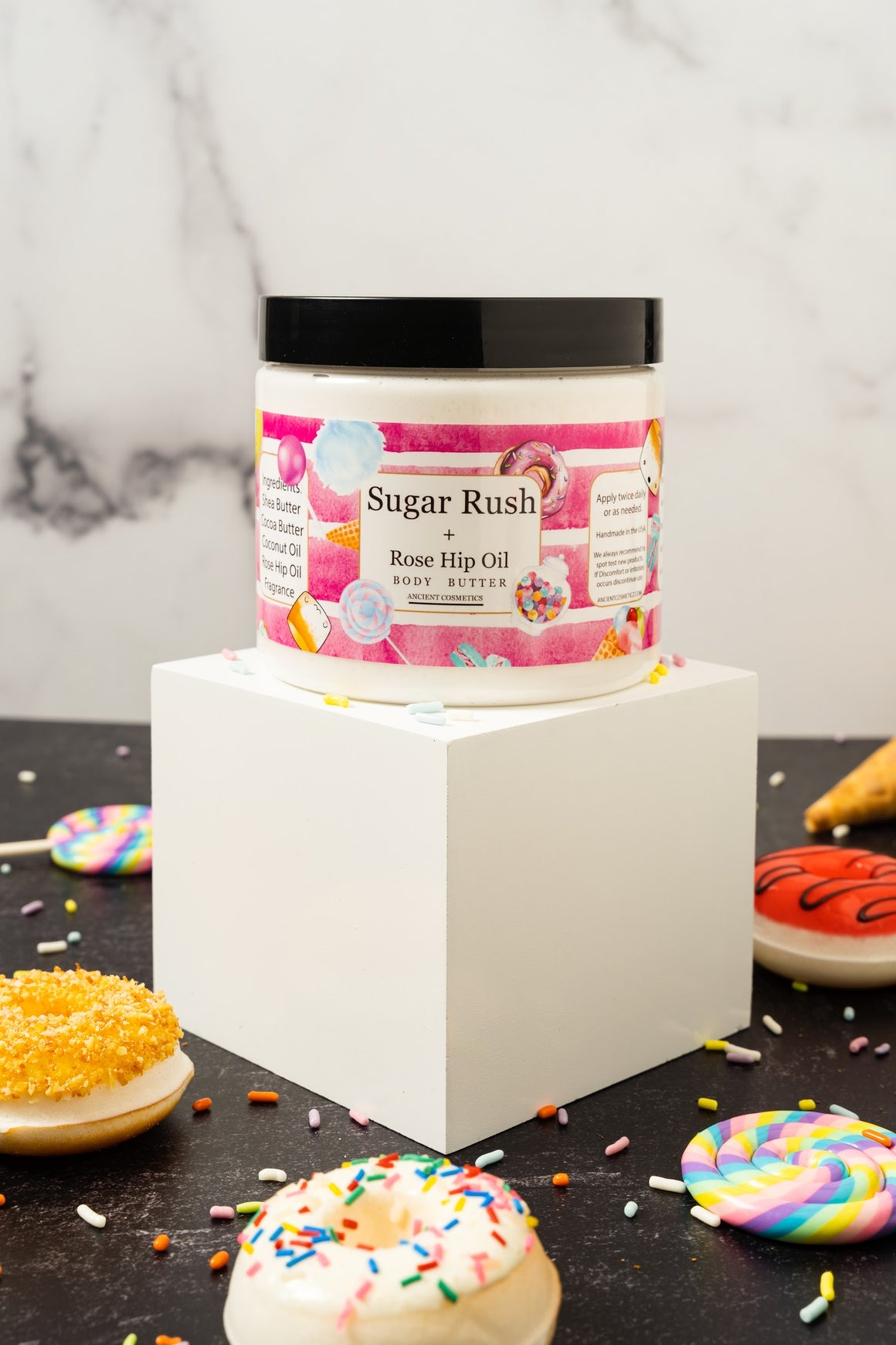 Sugar rush & Rose hip Oil -Body Butter