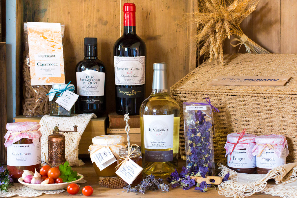 The Tuscan Table – Large Hamper