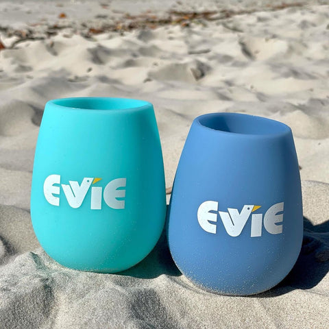 evie custom collab unbreakable silicone tumblers