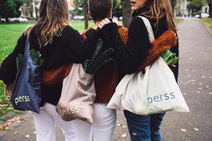 perss recyclable reusable shopping bags