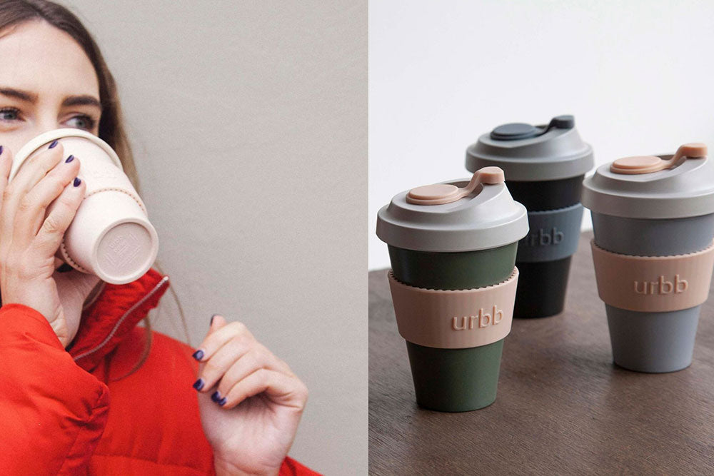 urbb neutral biodegradable bamboo reusable cups the neutral edit
