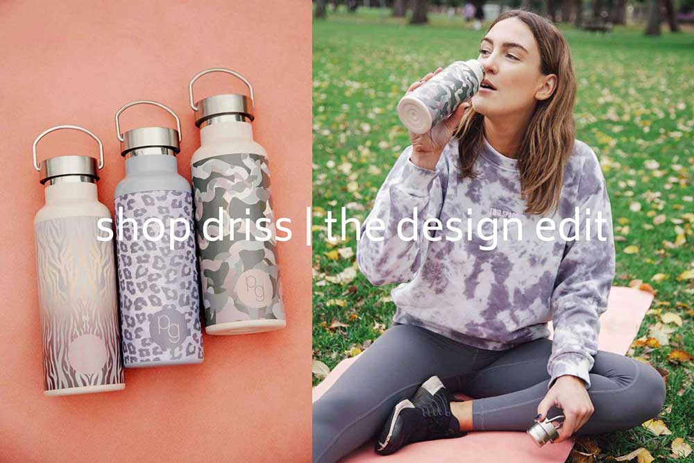 driss hot + cold drink bottles
